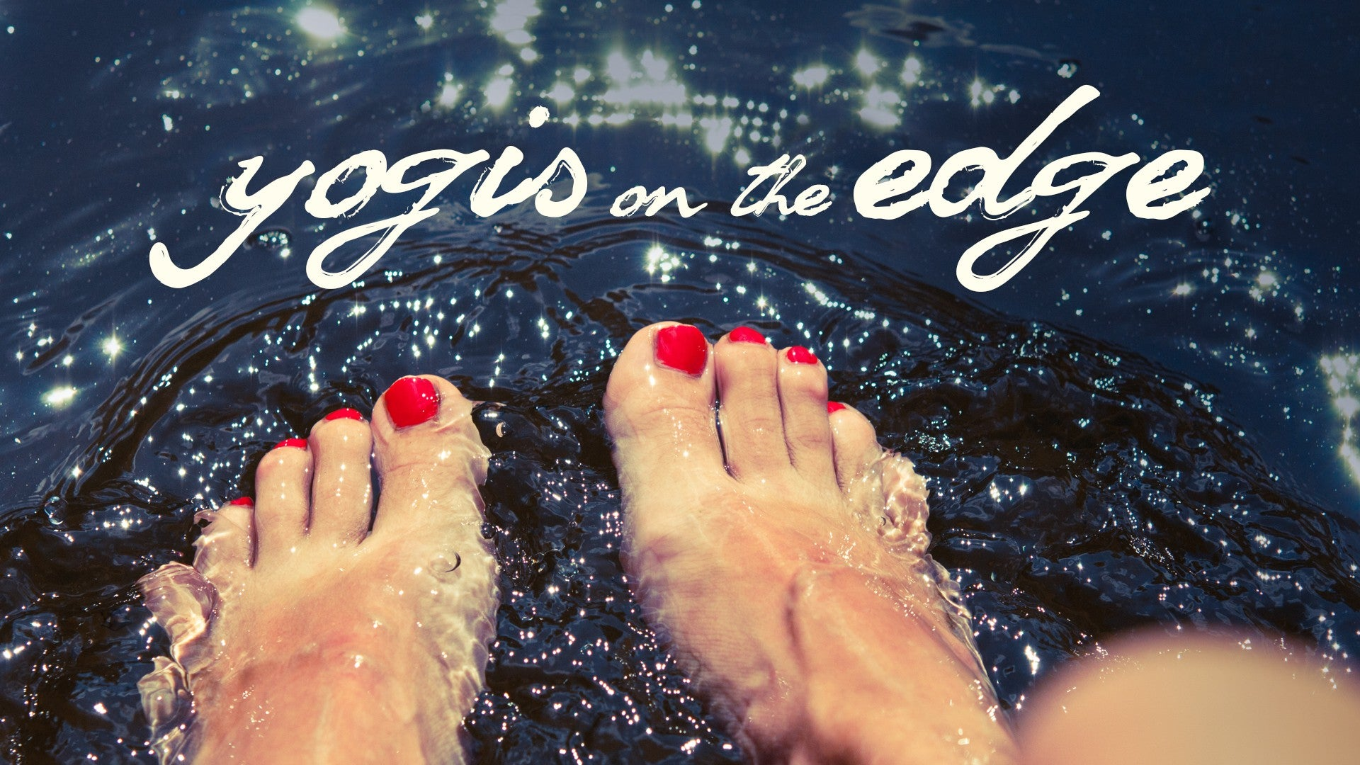 Yogis on the Edge Artwork