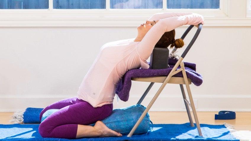 Restorative Chair Yoga with Leeann Carey