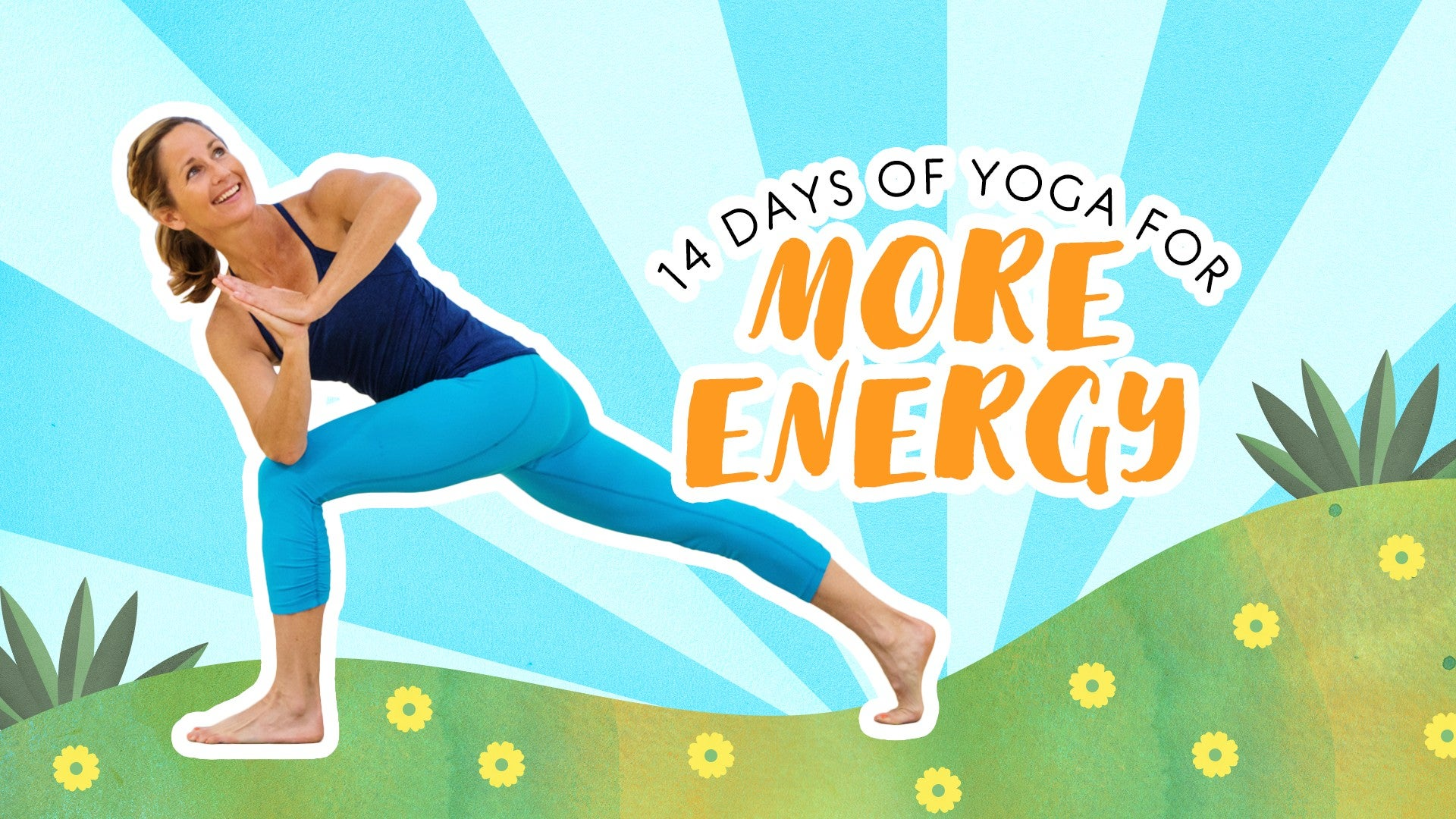 14 Days of Yoga for More Energy Artwork