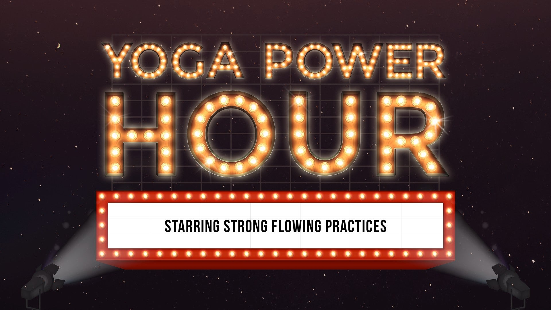 Yoga Power Hour Artwork