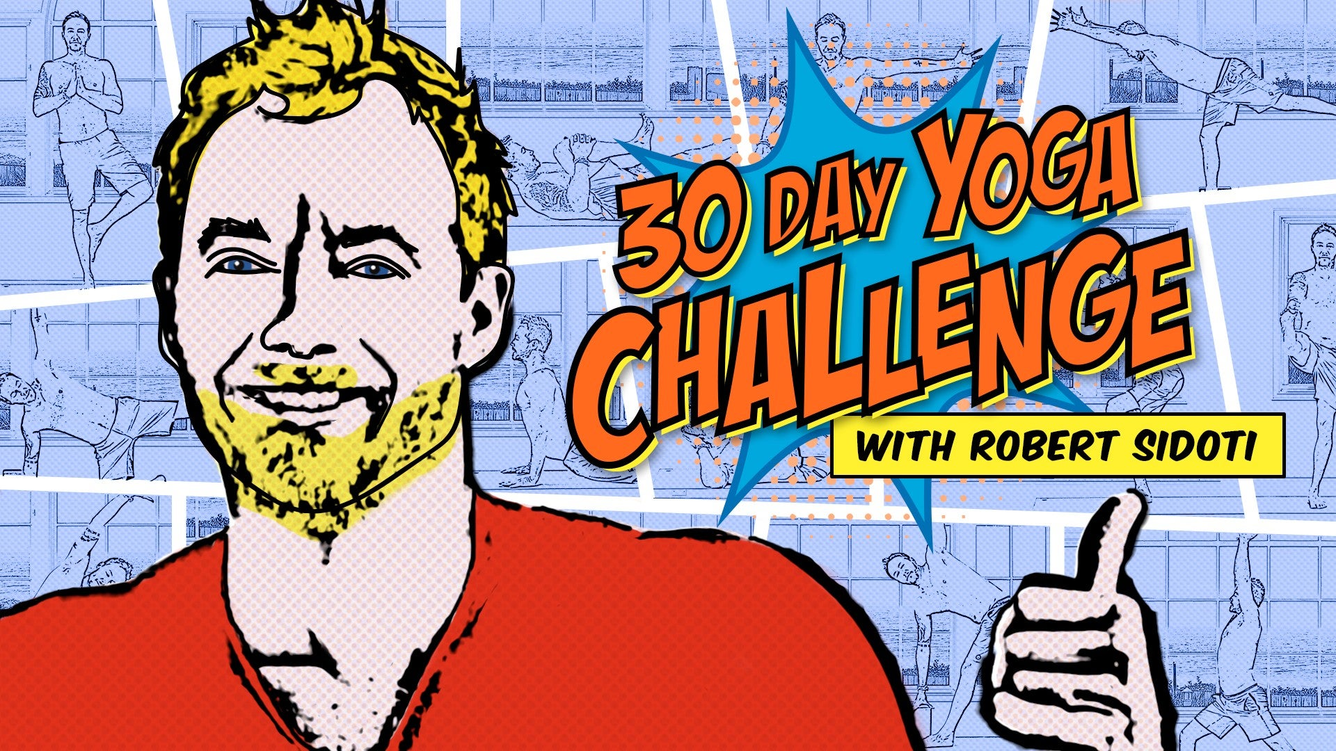 30 Day Yoga Challenge Artwork