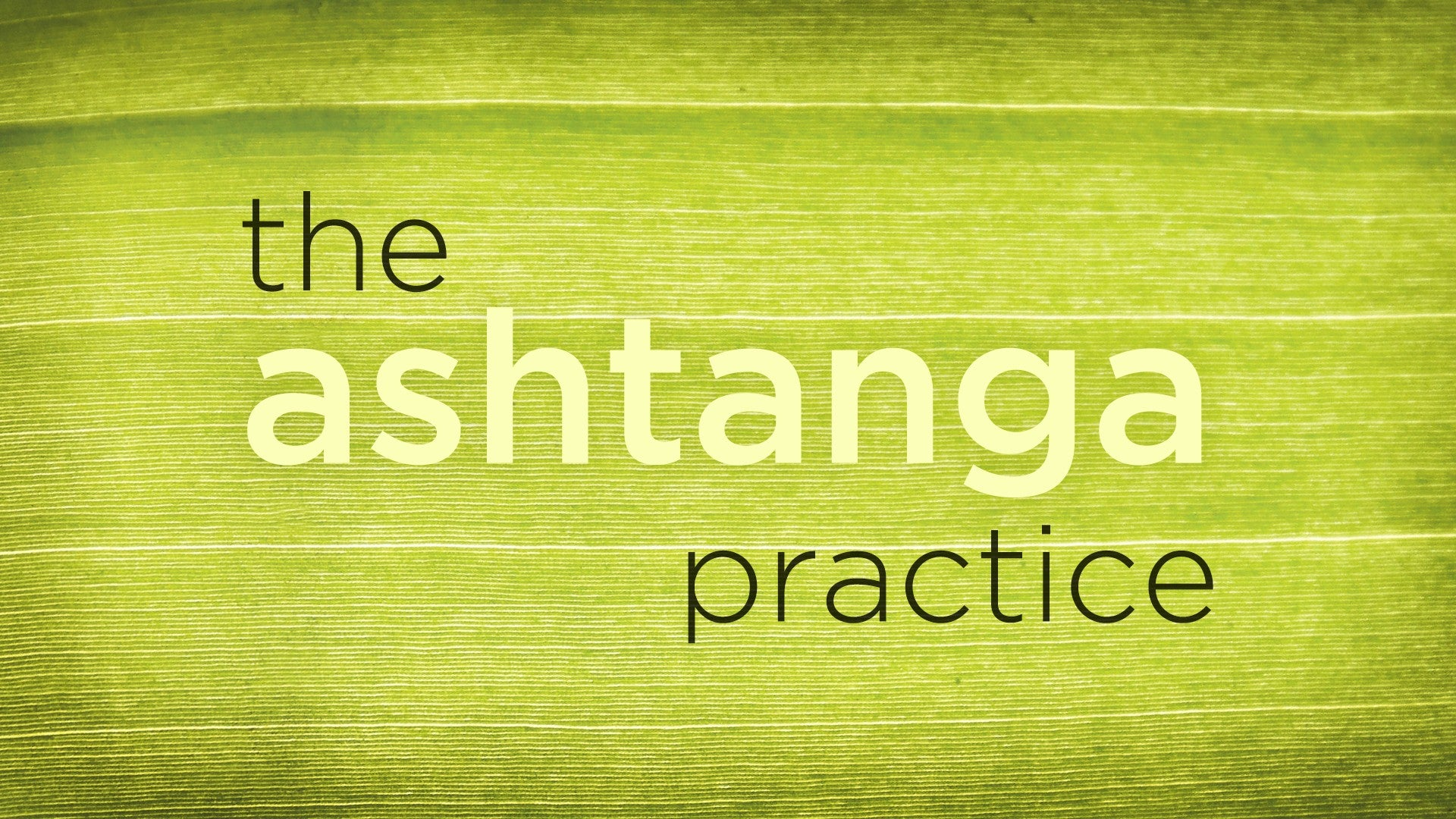 The Ashtanga Practice Artwork