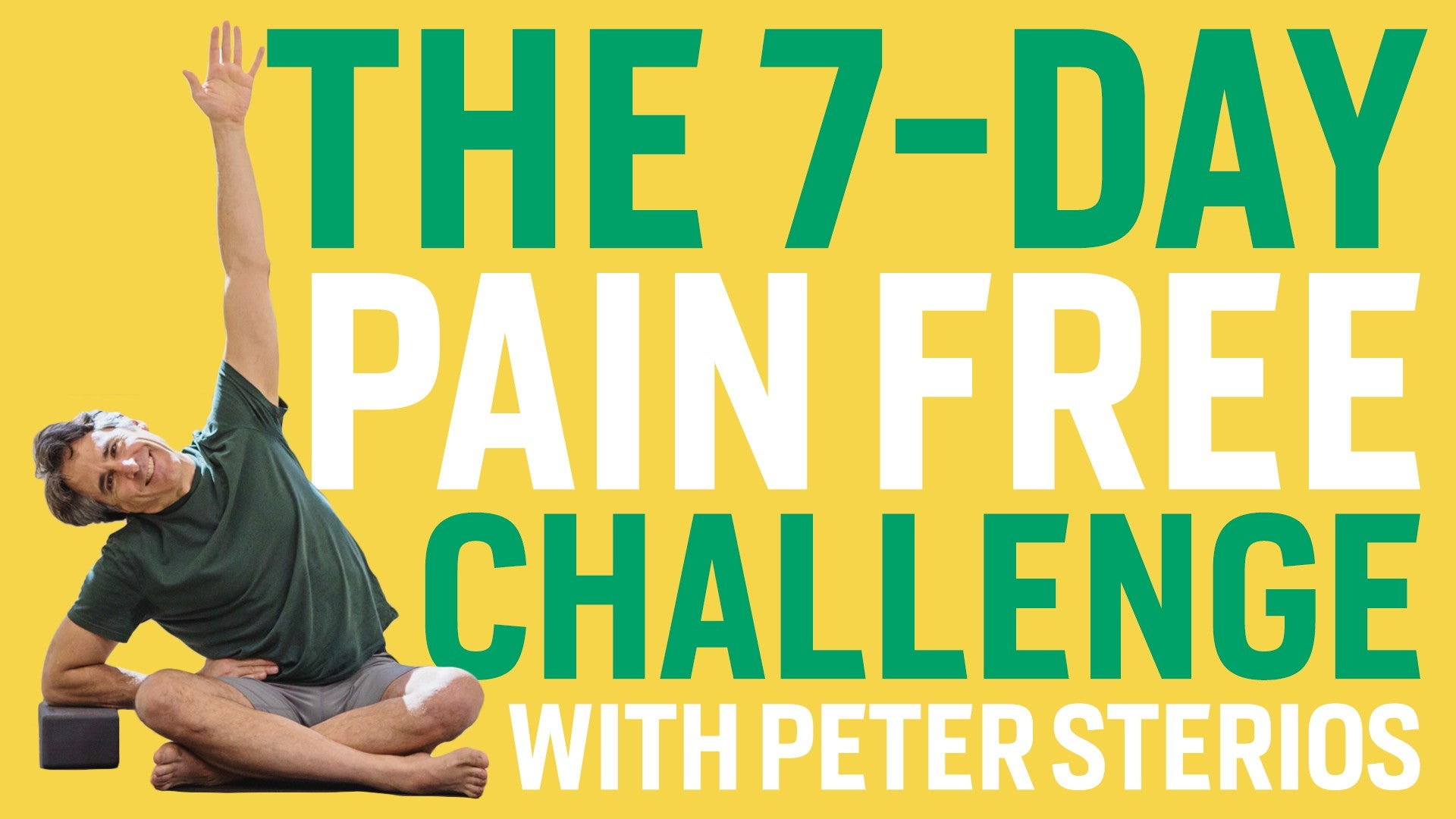 The 7-Day Pain Free Challenge Artwork