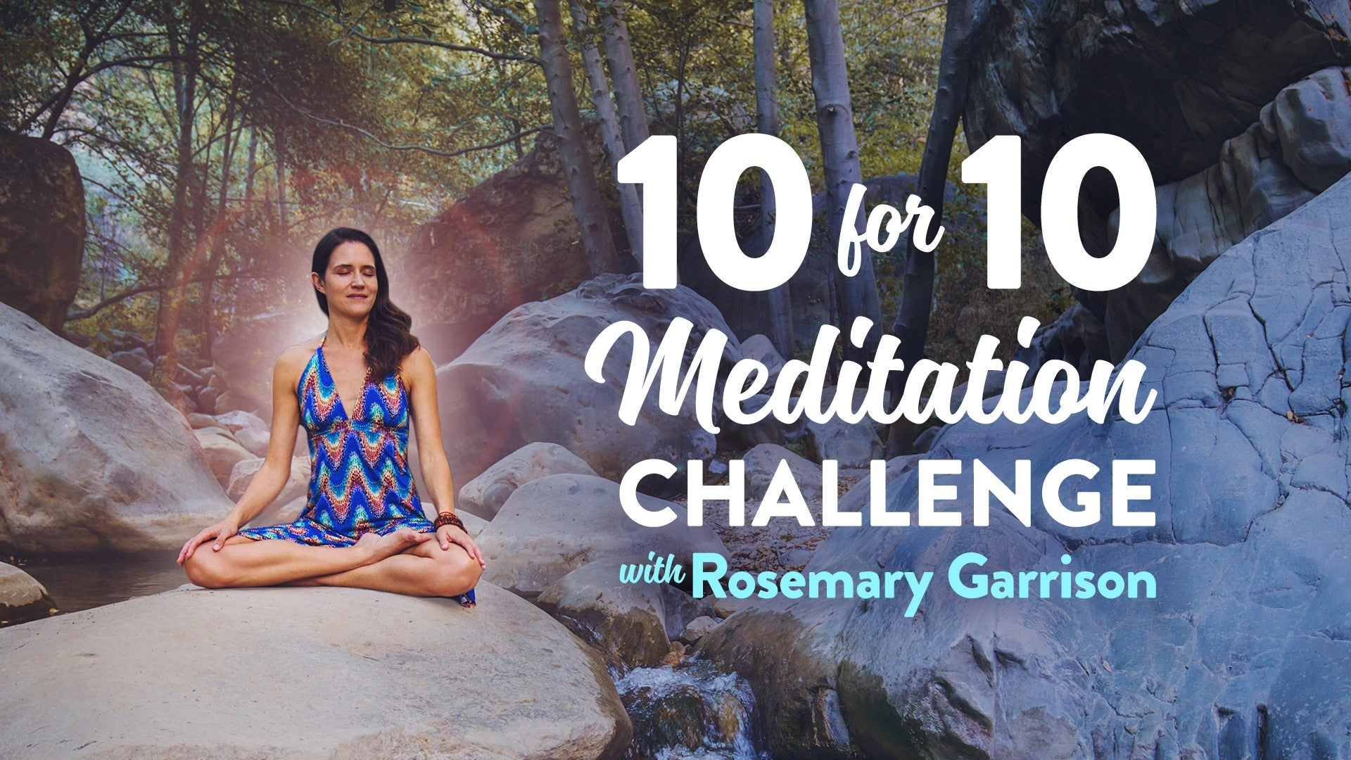10-Day Meditation Challenge Artwork