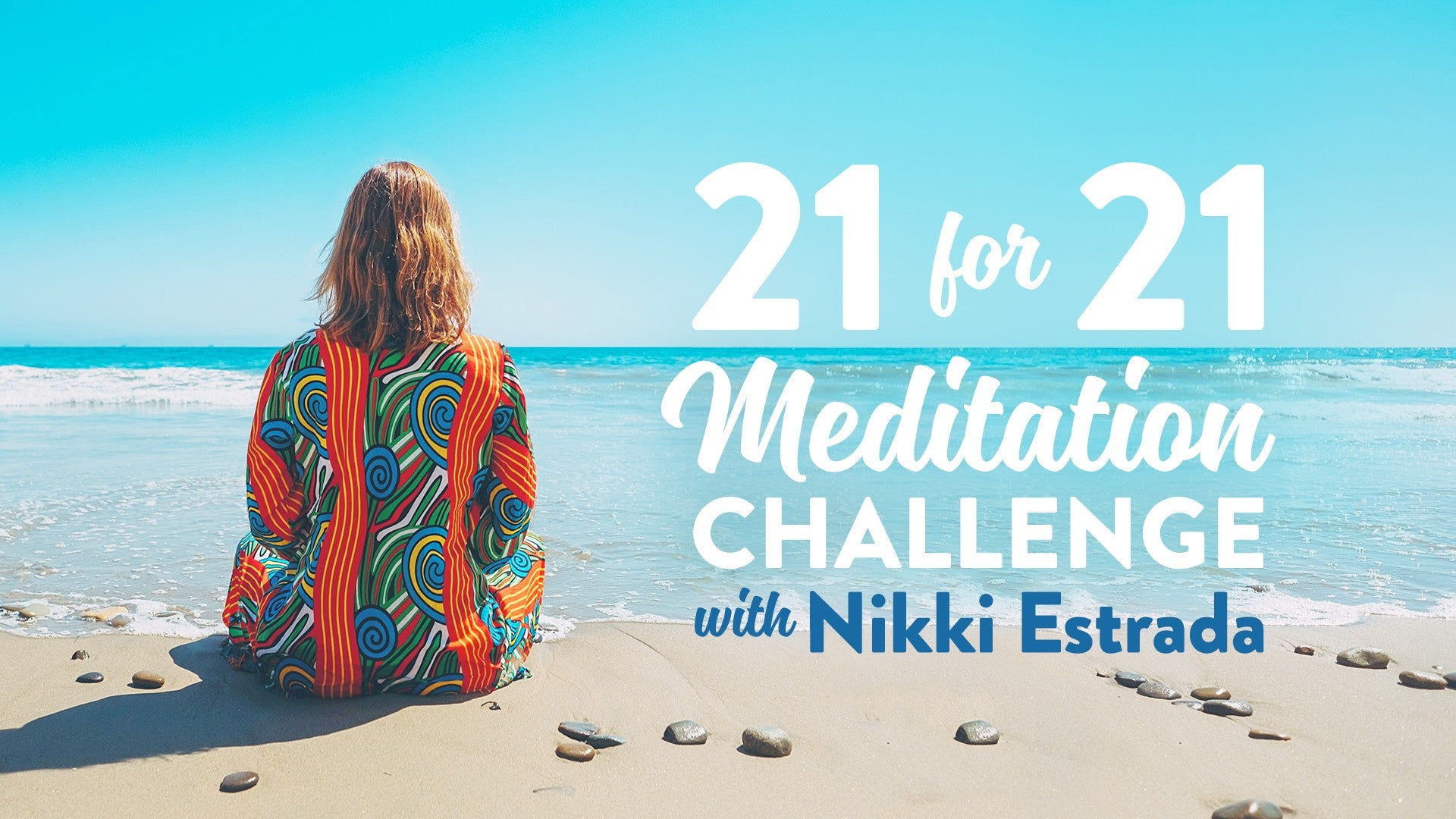 21-Day Meditation Challenge Artwork