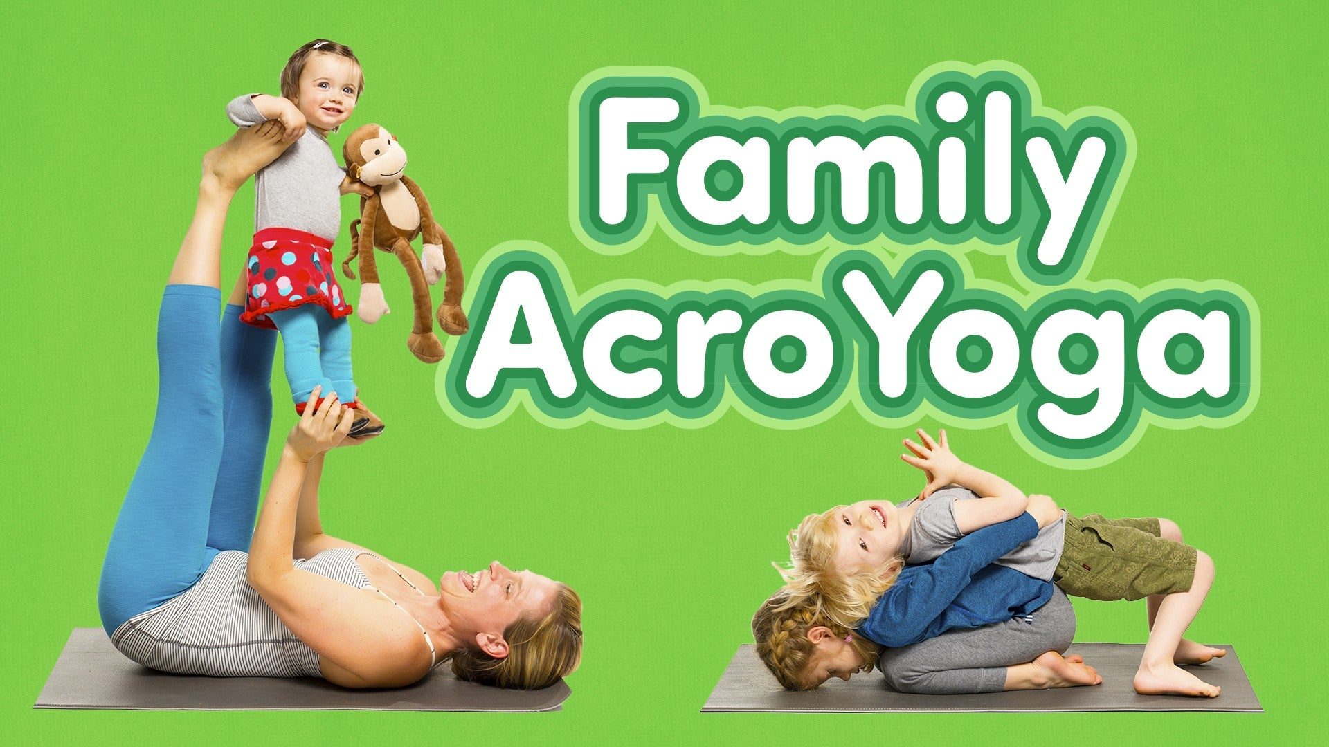 Family AcroYoga Artwork