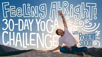 Feeling Alright: 30-Day Yoga Challenge Image