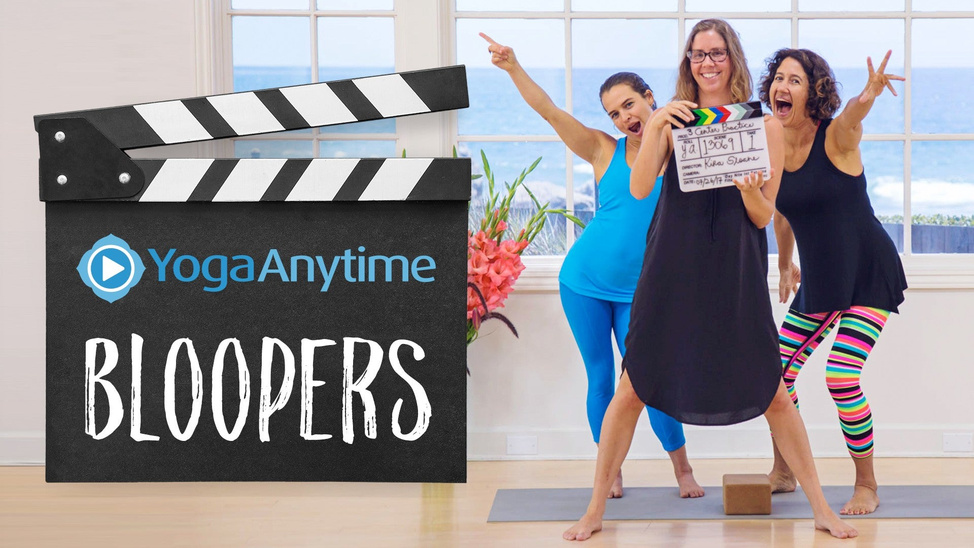 Yoga Anytime Bloopers Artwork