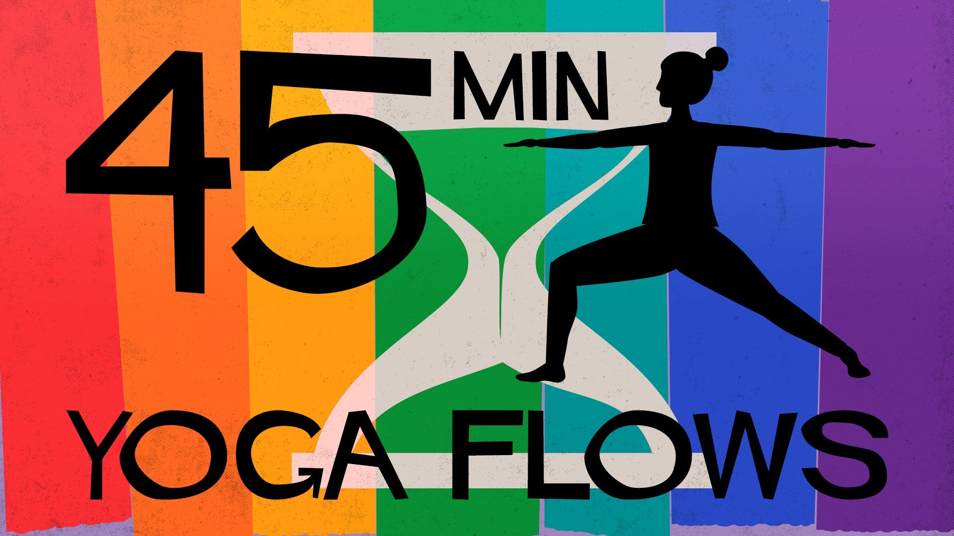 45 Minute Yoga Flows Artwork