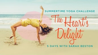 The Heart's Delight: A Summertime Yoga Challenge Image