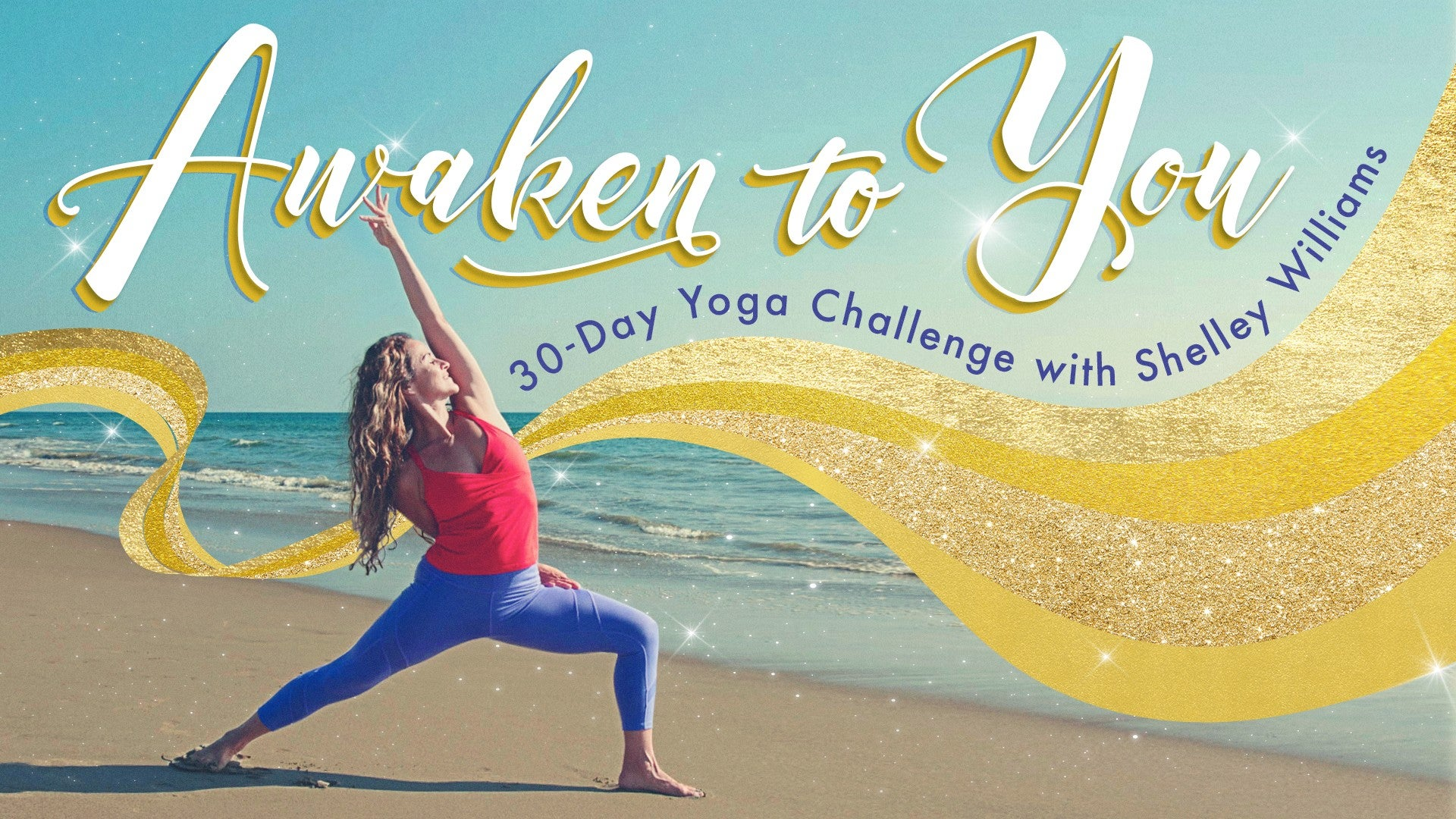 Awaken to You: 30-Day Yoga Challenge Artwork