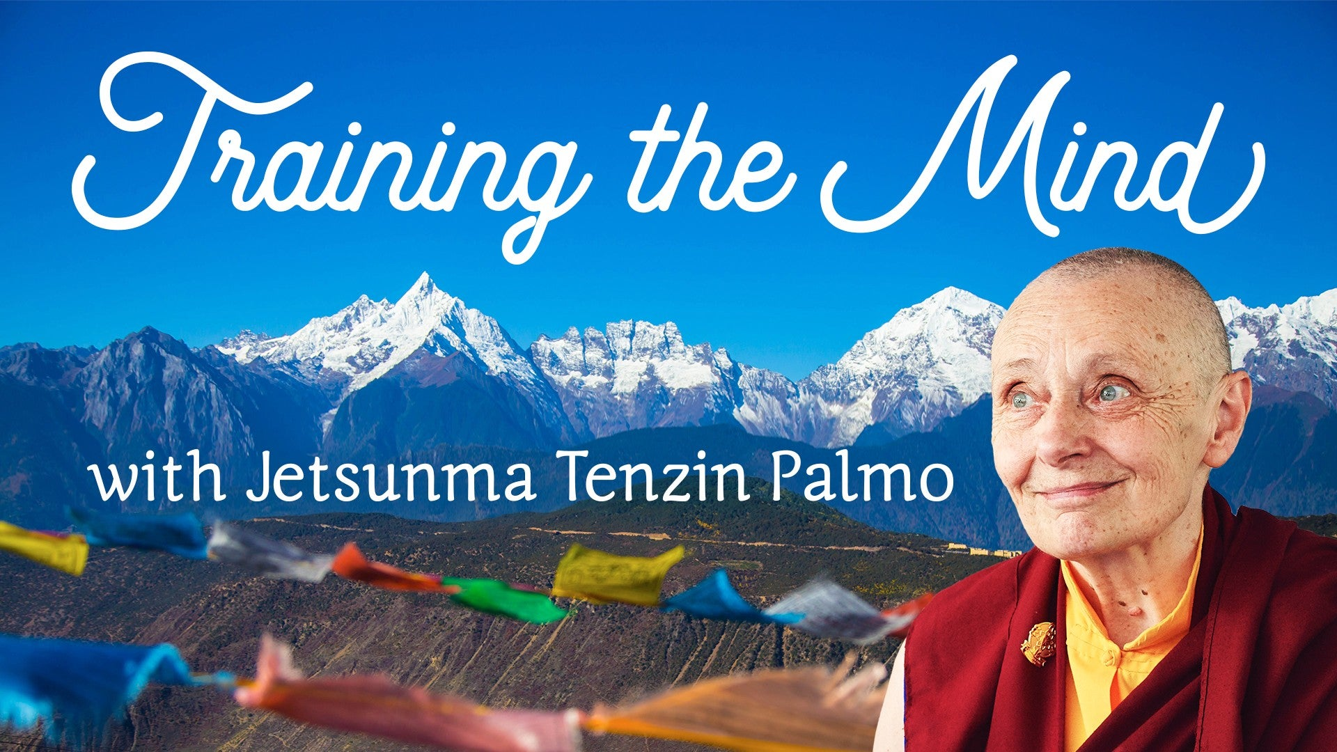 Training the Mind with Jetsunma Tenzin Palmo Artwork