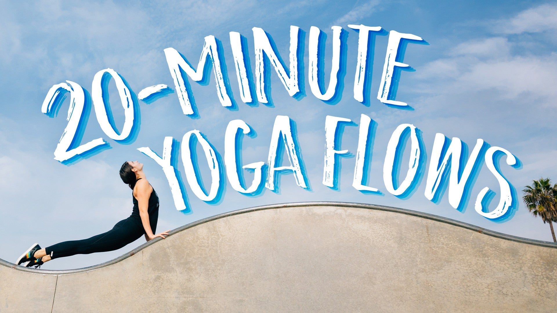 20 Minute Yoga Flows Artwork