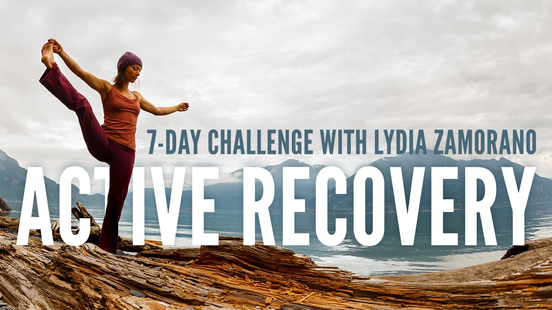 Active Recovery Yoga Challenge Artwork