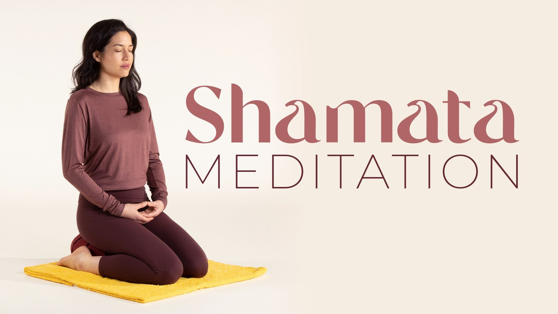 Shamata Meditation Artwork