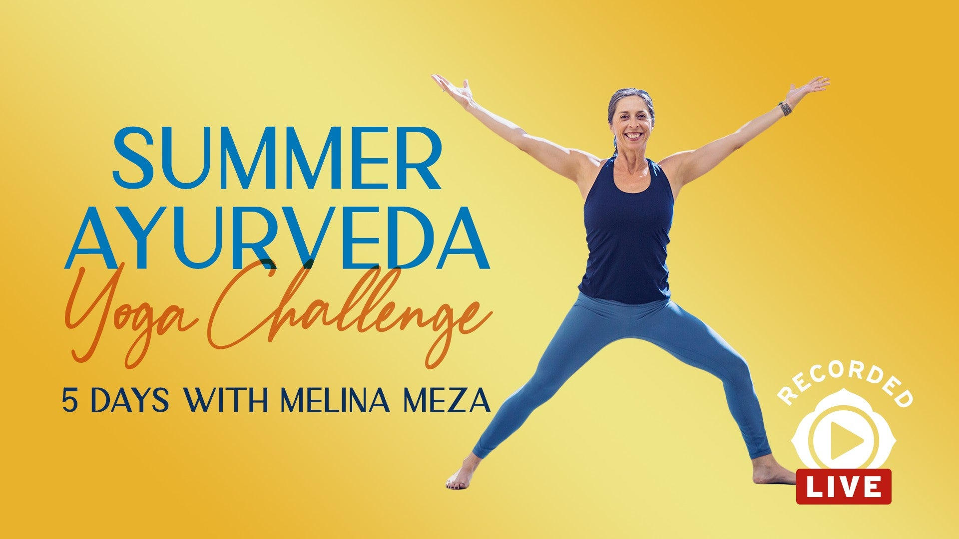 Summer Ayurveda Yoga Challenge Artwork