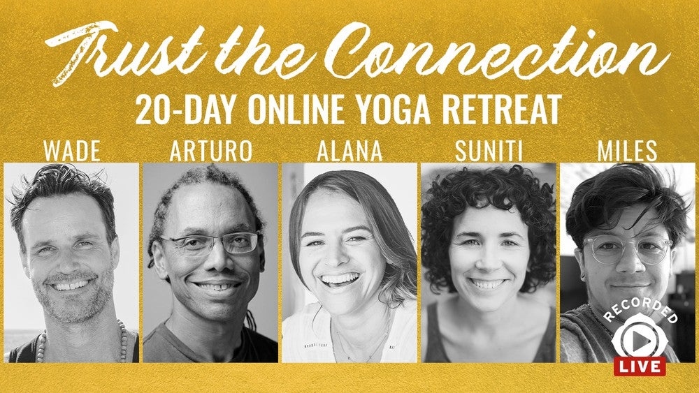 Trust the Connection: 20-Day Yoga Retreat Artwork